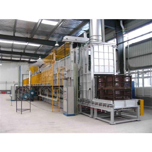 HRL型连续式铝合金固溶化处理炉
